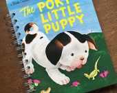 The Poky Little Puppy Little Golden Book Recycled Journal Notebook