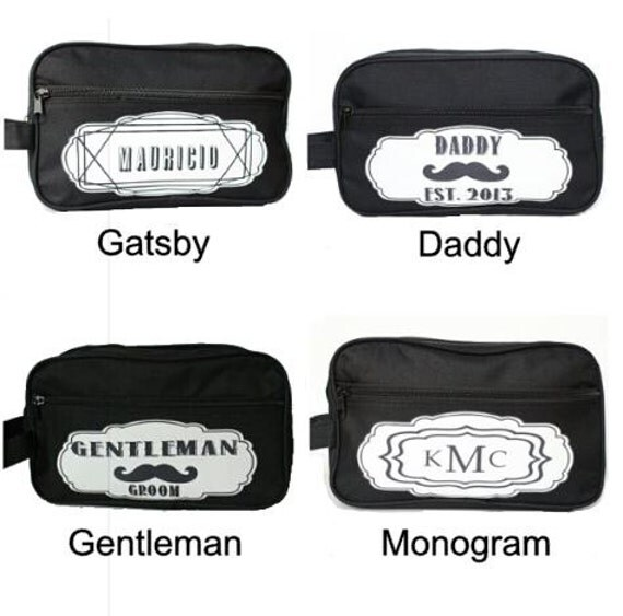 Groomsmen Gift, Personalized Groomsmen Gifts Mens Toiletry Bag Monogrammed Wedding Party Gift