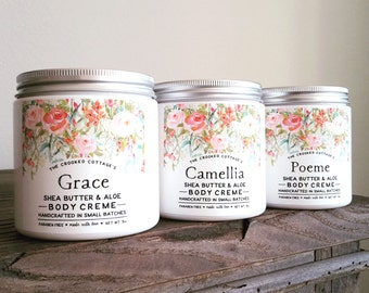 Body Creme • Choose your Fragrance | Grace, Camellia, Poeme, Serenity, Cashmere, Moonflower, Meadow