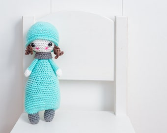 Stuffed doll (blue)
