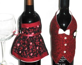 Wine Jacket Host & Hostess in Maroon print
