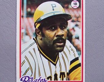 Vintage 1978 Topps Willie Stargel Baseball Card