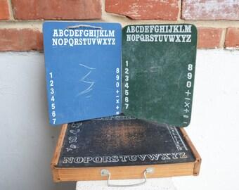 Vintage ABCs Chalkboards