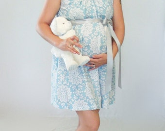 Labor and delivery maternity hospital gown breastfeeding nursing dress