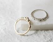 Silver Mountain Ring Bohemian Ring Inspirational Ring Inspiration Jewelry Natural Jewelry (Tall Version)