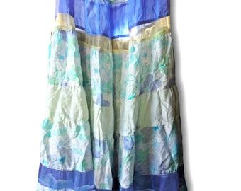 Long hippie skirt   Etsy