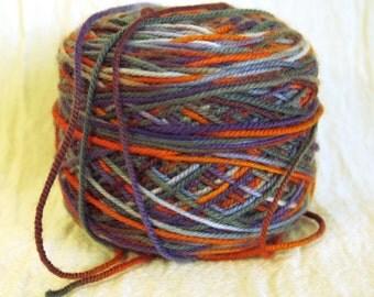 Supersock merino sock yarn handpainted color way by Cherry Tree Hill 4 oz