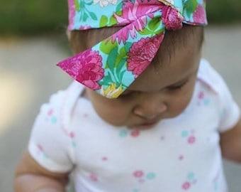 Flower Power Headwrap