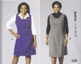 K4073 Kwik Sew Women's Jumpers Sewing Pattern Plus Sizes 1X-2X-3X-4X Does not make shirt Kerstin Martensson