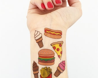 Mini Yummies Temporary Tattoos