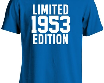 64th Birthday Shirt-Limited Edition 1953 Gift for 64th Birthday Gift Tshirt For Him