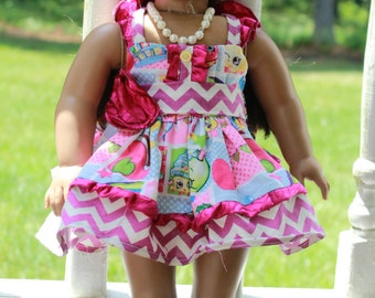 AG Shopkins Birthday Dress