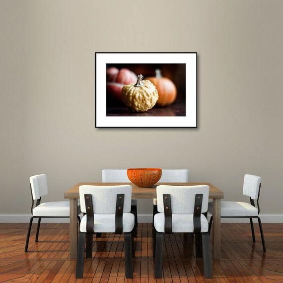 Kitchen Wall Decor Orange : Items similar to kitchen wall decor food art pumpkin