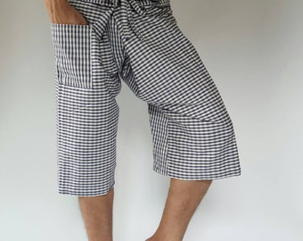 F30007 thai fisherman/yoga are pants free-size: will fit men or woman