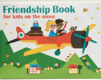 Friendship Book for kids on the move