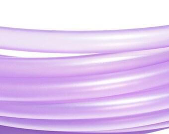 "5/8"" Translucent Purple Polypro Hula Hoop"