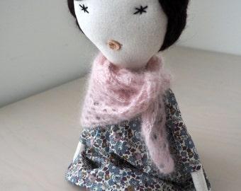 Handmade doll, rag doll, unique gift/ Suzy