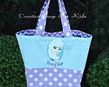 SALE! Frozen Princess Tote Bag/ Elsa Purse (ships in 1 day)