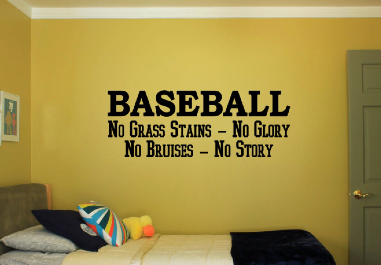 Baseball No Grass Stains Glory Bruises Story