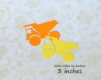 Dump Truck 3 inches, set of 12