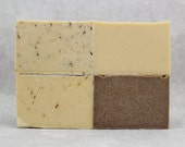 BEER SOAP 4 PACK, Cold Process, Hand Made, Men's Soaps, Manly Soaps