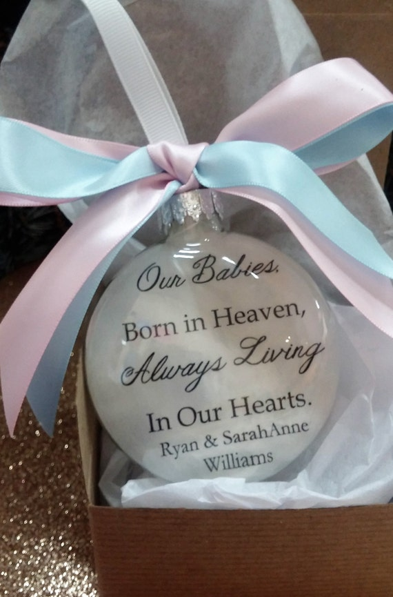 Items Similar To Twins Miscarriage Memorial Ornament