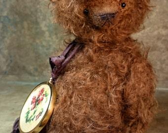 OOAK Teddy Bear DOWNY BROWNY  by Jevgeni Bulahtin