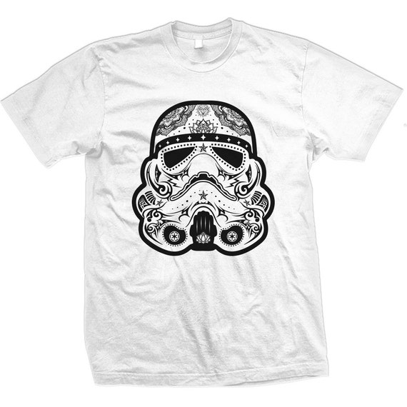 Sugar Skull Storm Trooper Tee My Sugar Skulls