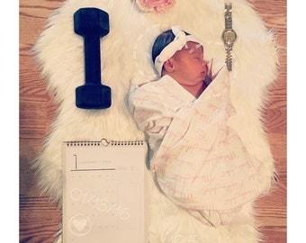 Swaddle blanket personalized baby name swaddle blanket: baby and toddler personalized name newborn hospital gift baby shower gift