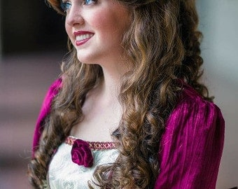 Princess Belle Boutique Wig inspired by Disney's Beauty and the Beast