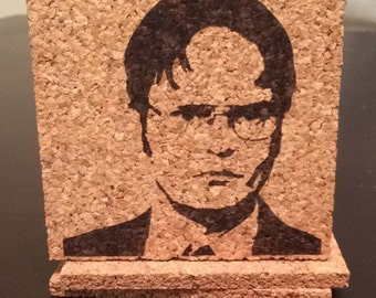 The Office Coasters // Set of Four // Dwight Shrute