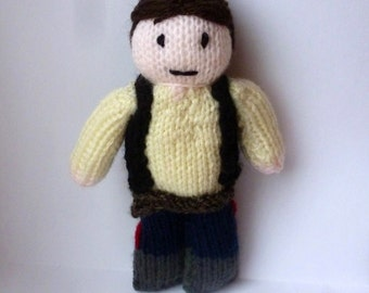 Han Solo (Star Wars) knitted doll