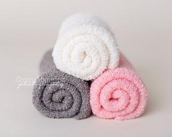 Stretch Knit Wraps, Pink Knit Wrap, Putty Knit Wrap, Newborn Knit Wrap, Photography Knit Wrap, Knit Wrap, Photography Prop, Newborn Prop