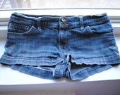 Denim Jean Short Shorts // Women's Size 2