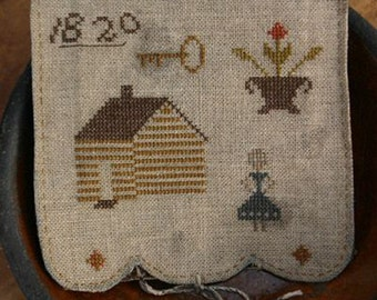 Pattern: Olde Homestead Sewing Book by Stacy Nash Primitives Cross Stitch