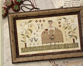 Pattern: Needle & Thread Cross Stitch - Country Stitches - With Thy Needle and Thread - Brenda Gervais