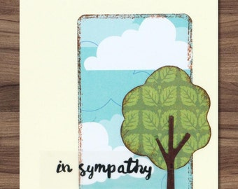 In Sympathy Tree card