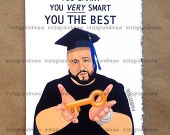 DJ Khaled Graduation Card