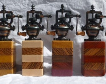 Exotic Wood Pepper Grinders