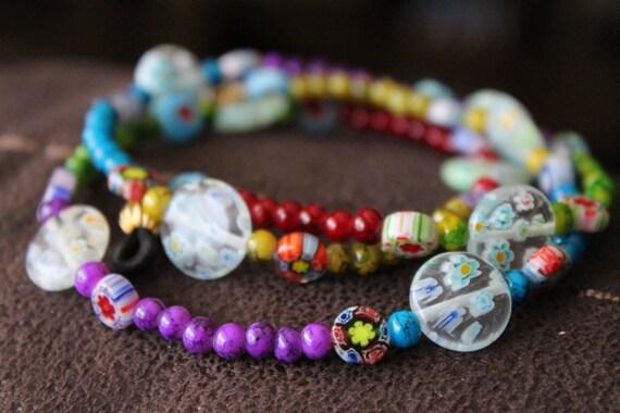 Rainbow Eyeglass Chain Holder, Colorful Chain for Glasses, Girls glasses Accessory, Kid Eye Glasses,
