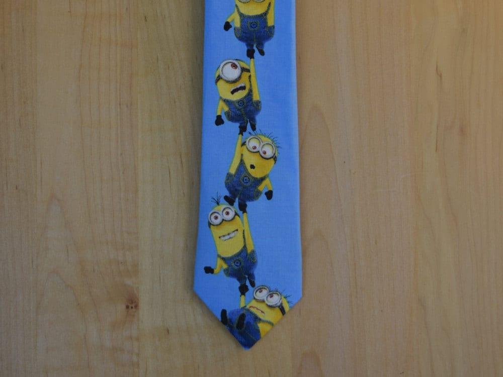minion neck tie