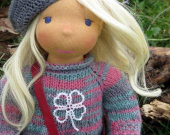 Waldorf doll Brina  - 16,5'' Waldorf inspired doll