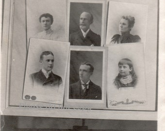Antique Photo ~ snapshot of a Cabinet Card Photographs