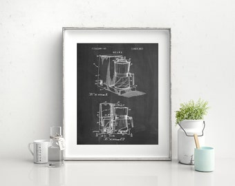 Dart Coffee Maker 1975, Vintage Coffee, Diner Decor, Kitchen Wall Art, Coffee Print, PP0208