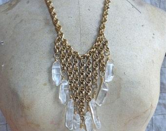 Crystal Bib Necklace III