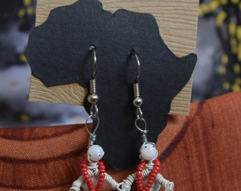 Handmade African Earrings - A One-of-a-Kind Gift
