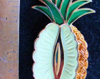 Trifari pineapple brooch