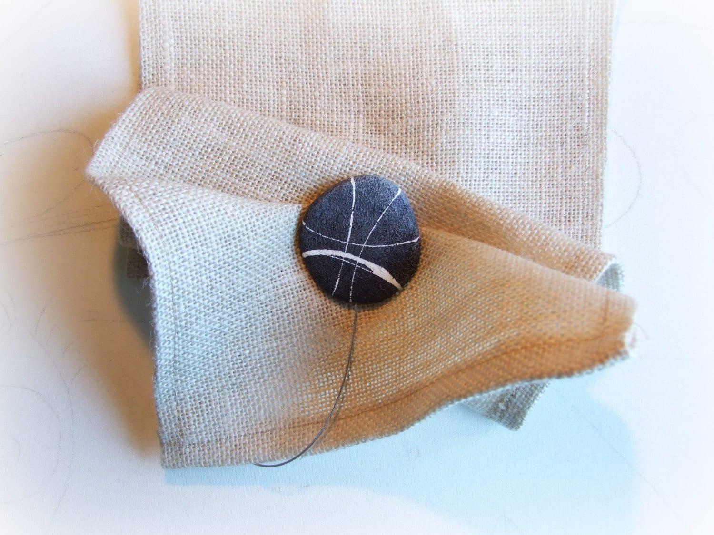 Calamite per tende con pietre Coppia raccogli tenda moderni
