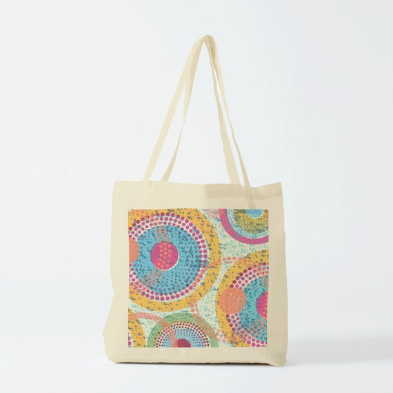 Tote Bag Summer Wax, Canvas bag, groceries bag, beach bag, student bag, laptop bag, woman bag, african pattern, novelty gift, gift coworker.