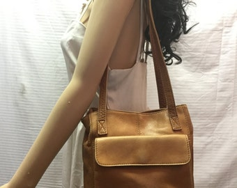 Hobo International, Leather Bag, Brown, Leather, Shoulder Bag, Purse, Free US shipping